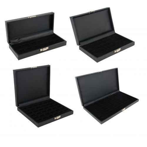Slotted Ring Display Cases