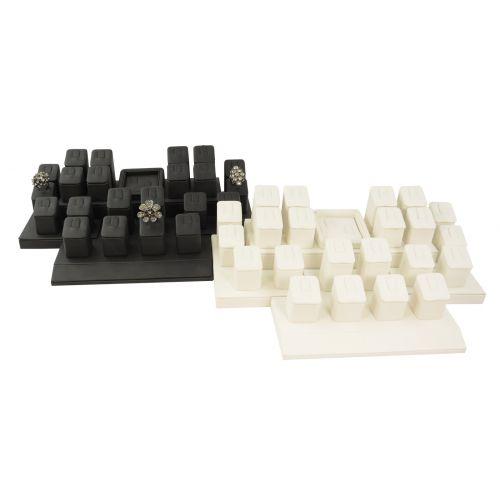 Leatherette 24 Ring Display Set - Colour Choice (SET103)